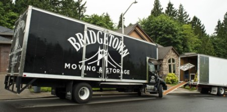 Moving Truck - Bridgetown Moving